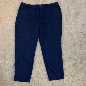 White House Black Market Blue Slim Ankle Pants